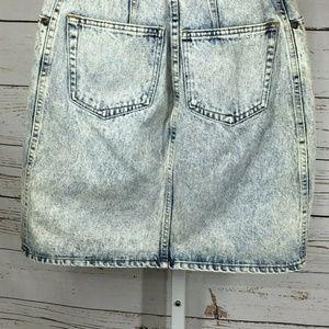 Forenza Skirts - Forenza Acid Wash Denim Skirt size 10